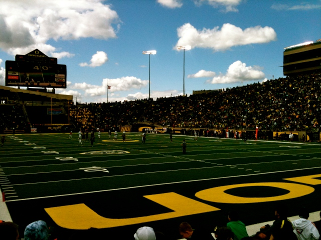 Oregon Duck's 2011 Spring Game